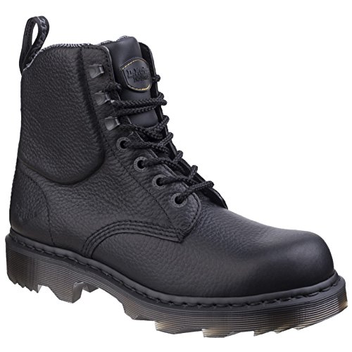 Dr. Martens Unisex Calshott Boot Black Industrial Bear WP1zS4