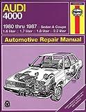 Audi 4000, 1980 Thru 1987, A. K. Legg and John Haynes, 1850102422