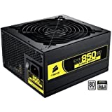 Corsair CMPSU-850TX 850-Watt TX Series 80 Plus Certified Power Supply compatible with Core i7 and Core i5