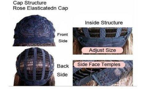 AGPtek® 24 inch Fashion Long Straight Beautiful Black Full Hair Wig Cosplay