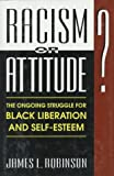 Racism or Attitude?, James L. Robinson, 0306449455