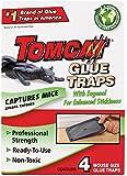 Tomcat Mouse Size Glue Traps, 4-Pack (Eugenol Formula)