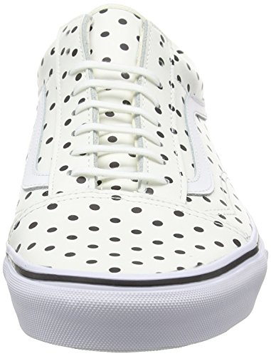 Old Basse Scarpe Dots da Polka Uomo White Blanc Ginnastica VansU Skool Bianco aqfp7f
