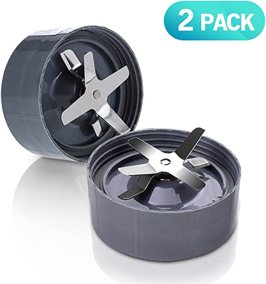 2Pack NutriBullet Blender Blade Replacement Part,Juicer and Mixer Premium replacement parts for Nutribullet Original and Pro 900W//600W
