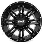 jeep black rims - Set of 4 IWS Series 5007 18