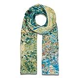 The Metropolitan Museum of Art Women's Lightweight Floral Silk Fashion Scarf