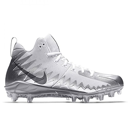 Grey Pro Dark Cleats Metallic Silver Mens Football Menace Nike Mid Alpha Metallic 7xwOPF
