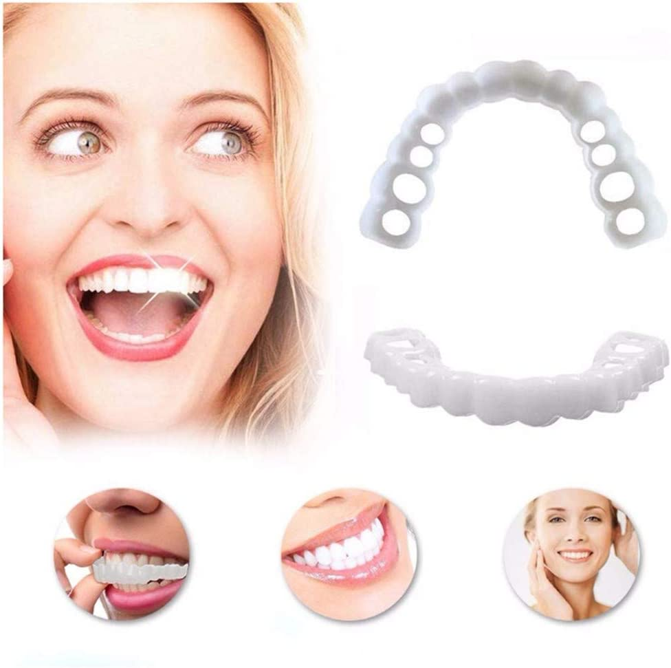 Cosmética Blanqueamiento Salud Cómodos Dientes Dentales Reutilizable Adulto Para Blanquear La Dentadura Prótesis De Alta Calidad Simuladores Ortopédicos