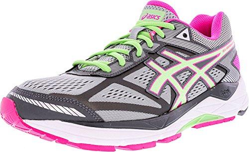 ASICS Women's Gel-foundation 12 Running Shoe, Silver/Pistachio/Pink Glow, 9.5 D US