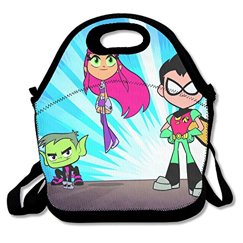 Teen Titans Travel Tote Lunch Bag