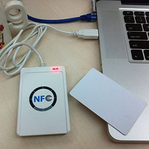 Read Write Speed up to 212Kbps//242Kbps Computer Components Computers /& Accessories ACR122 NFC RFID USB Noncontact Smart Card Reader