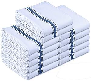 White Waffle Weave Kitchen Towels Bulk