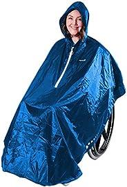 GOTITA – Waterproof Poncho for wheelchairs – Universal Raincoat – Italian Design