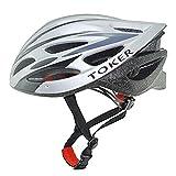 Coface Plus Size Expert Bicycle Helmets,SilverGray