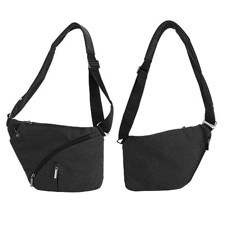 Amazon.com   Chest Shoulder Bag Canvas Sling Shoulder Backpacks ... c60cd2652b2ff