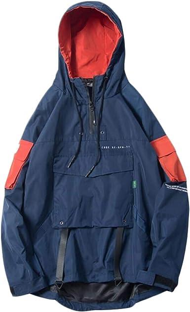 Rrive Mens Zipper Mid Long Drawstring Coat Windbreaker Trech Hoodies Outwear Jackets
