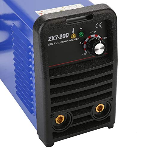 Professional MMA Continuous Welding Machine ZX7-200 IGBT Inverter Weld Manual Equipment PWM Control 220V Weldering Accessory: Amazon.es: Bricolaje y ...