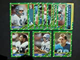Seattle Seahawks 1986 Topps Football Team Set** Jeff Bryant, Kenny Easley, Randy Edwards, Jacob Green, John Harris, Norm Johnson, Dave Krieg, Steve Largent, Steve Largent Record Breaker, Joe Nash, Daryl Turner, Curt Warner and Fredd Young**
