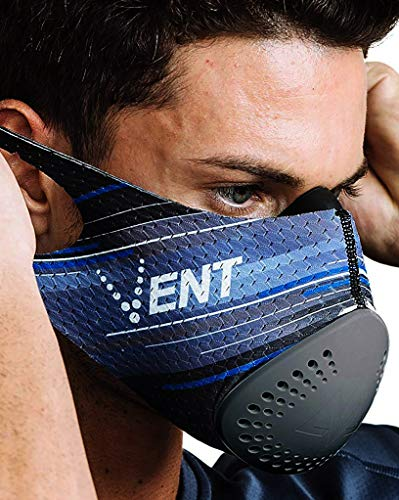 VENT Performance Filtration Mask   2 in 1 Filtration and Workout Mask [N99 Filter Rating] for Pollution, Dust, Pollen, Construction and Home Improvement Projects