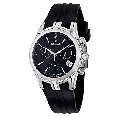 EDOX de mujer reloj de pulsera Grand Ocean Chrono Lady Cronógrafo Date analógico de cuarzo 10410
