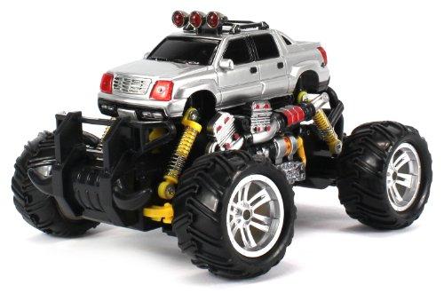 Cadillac Escalade EXT Electric RC Off-Road Monster Truck 1:18 Scale 4 Wheel (Cadillac Escalade Ext Pickup)