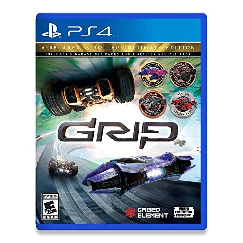 Grip: Combat Racing - Rollers Vs Airblades Ultimate Edition - PlayStation 4