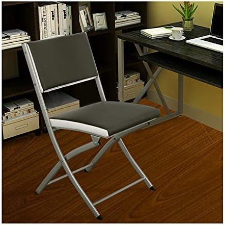 LKH Silla Plegable Portable, sillas Plegables cómodo, Plegable ...
