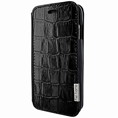 Piel Frama Wallet Case for Apple iPhone 6 / 6S - Crocodile Black by Piel Frama