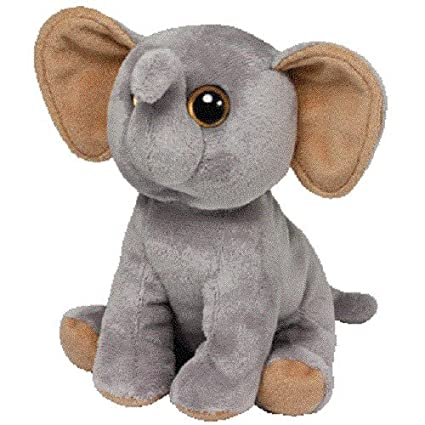 607bbe3153a Image Unavailable. Image not available for. Color  Ty Beanie Babies Sahara Elephant  Plush