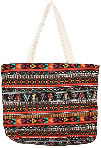 Handle Bohemian Size Shoulder Handbag Top Tote B012 Bag Big Hippie ft1q8rf