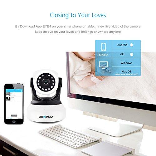 Wireless WiFi IP Security Camera - GENBOLT 720P HD CCTV