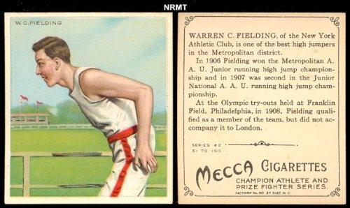 1910 T218 Champion Athletes (Miscellaneous) Card# 12 w.c. fielding Fair Condition