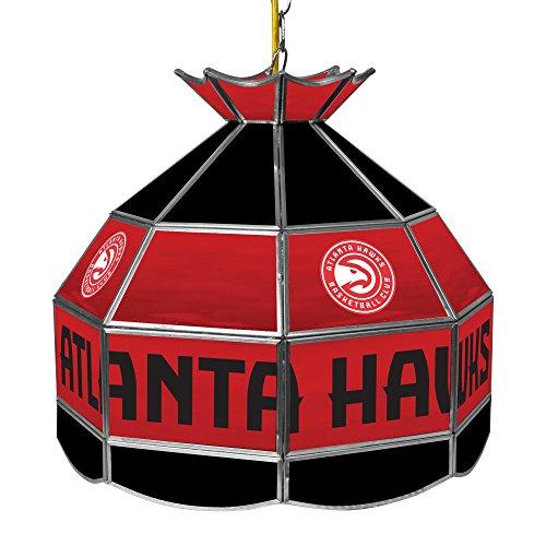 NBA Atlanta Hawks Tiffany Gameroom Lamp, 16'' by Trademark Gameroom