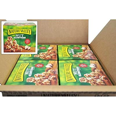 Nature Valley Apple Cinnamon Nut Clusters, 21 Ounce -- 4 per case.