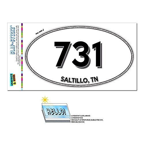 graphics-and-more-area-code-oval-window-laminated-sticker-731-tennessee-tn-lenox-wildersville-saltil