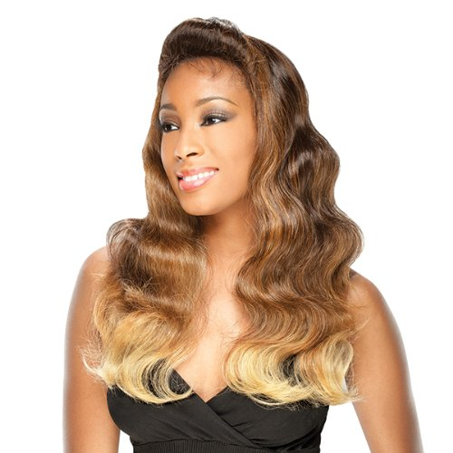 FreeTress Equal BeeHive Braid Hair Lace Front Wig - SWEETIE (613 - BLEACH BLONDE)