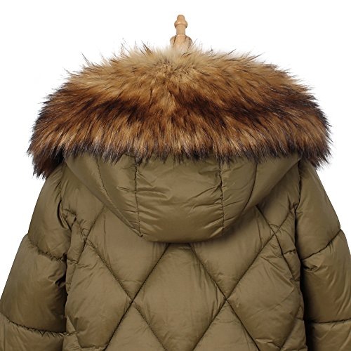 Faux Fur Hood - Roniky Womens Mens Trim Hood Faux Fake Fur Hood Winter for Jacket Ski Scarf Neck Warmer Collar Wrap Shawl (Rccoon)