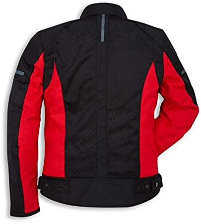 Ducati Summer Textile Mesh Jacket by Spidi Black XX-Large 981040467