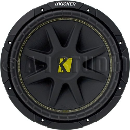 NEW KICKER C12 12'' 300W Single 2-Ohm Comp Series Car Audio Subwoofer Sub 10C122 by Kicker