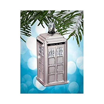 Amazoncom Doctor Who Tardis Silver Limited Edition 50th
