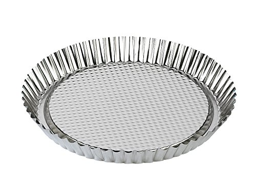 Zenker Tin Plated Steel Flan/Tart Pan, 11-Inch