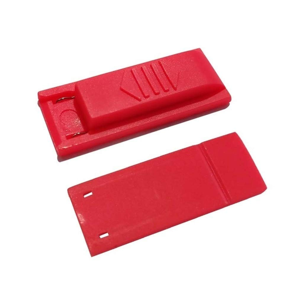 Onefa Short Connector Circuit DN Paper Clip Jig for Nintendo Switch RCM Mode Kits Clip Tool Short Connector (Red) by Onefa (Image #3)