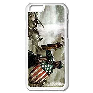 Custom Captain America Sports Phone Case Shell For IPhone 6 by supermalls