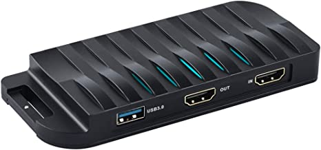 Amazon.com: Tarjeta de captura HDMI de juegos, Full HD USB ...