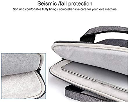 Todayday Light and Beautiful ST02S Waterproof Tear Resistance Hidden Portable Strap One-Shoulder Handbag for 13.3 inch Laptops 3 Black ,Large Capacity to Meet Your Daily Needs with Suitcase Belt