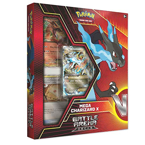 Pokemon TCG: 2018 Battle Arena Deck- Mega Charizard X