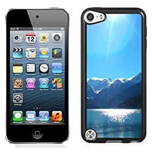 New Fashion Custom Designed Skin Case For iPod Touch 5th With Lake On The Snow Mountains Phone Case Cover