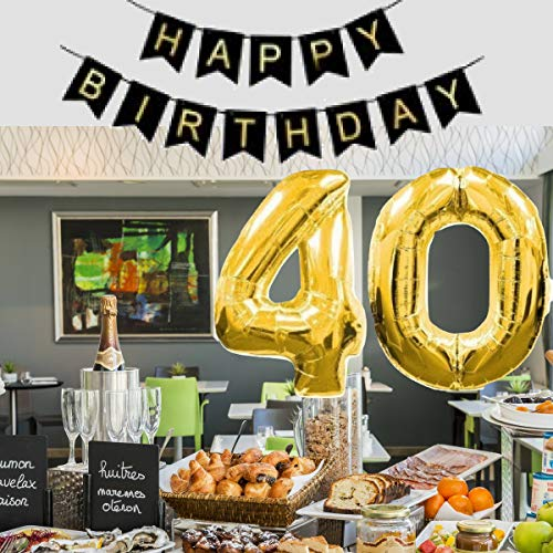 Uncommon Laundry 40th Birthday Party Decorations Men For Him Her Banner Balloons