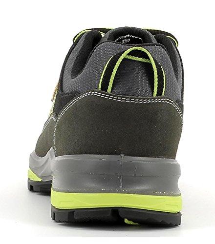 Terrain Schuhe Wildleder low hochwertigem Trekking Unisex Herren und aus Wander Halbschuh V8 Damen und Grisport Gritex Vibram Membrankonstruktion Sohle BwRqXAX