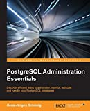 img - for PostgreSQL Administration Essentials book / textbook / text book